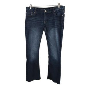 EXPRESS JEANS Boot Leg 5 Pockets, Low Rise, 10S